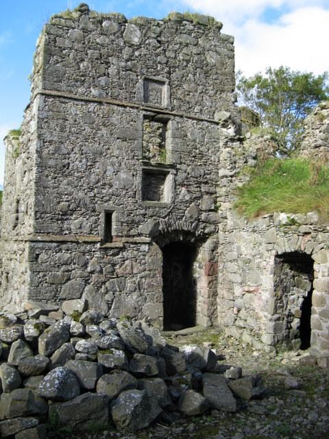 North-eastern part of Pitsligo Castle
