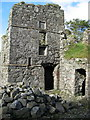 NJ9367 : North-eastern part of Pitsligo Castle by Ulrich Hartmann
