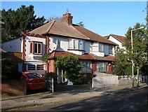 TQ1979 : 21 & 23 Gunnersbury Crescent, Acton, London W3 by Janusz Lukasiak