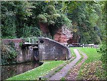 SO8275 : Caldwall Lock , Kidderminster, Worcestershire by Roger  Kidd