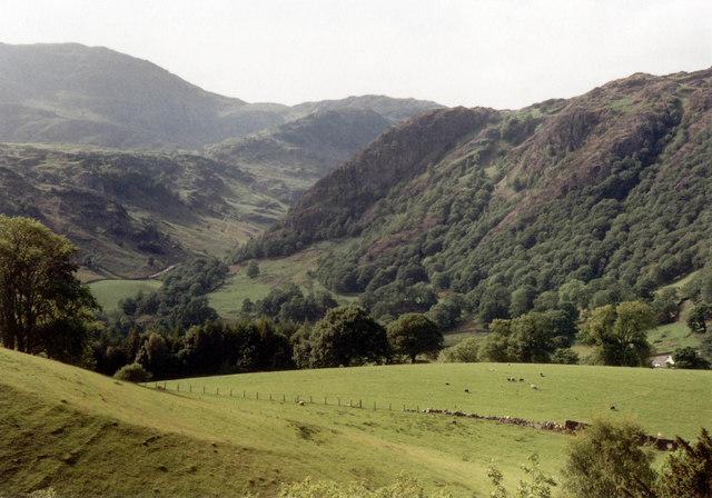 Yewdale Beck valley