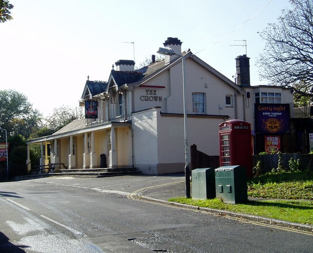 The Crown Public House, Ealing Road, Northolt.