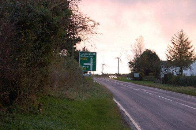 Road Junction at Bothel