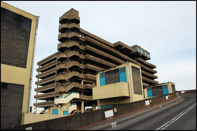 Trinity square car park (Get Carter)