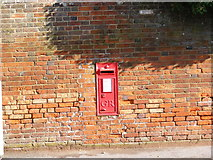 TM3863 : North Entrance George V Postbox by Geographer
