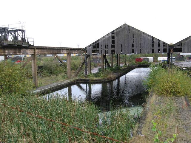 Wolverhampton - disused canal wharf