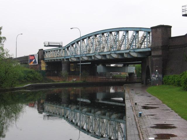 Camp Hill - railway viaduct