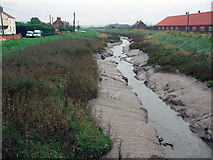 TA0623 : The Beck at Barrow Haven by David Wright