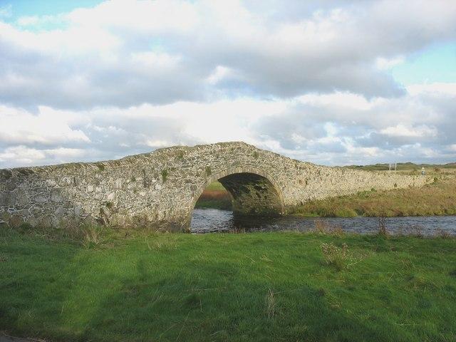 The south side of Yr Hen Bont, Aberffraw