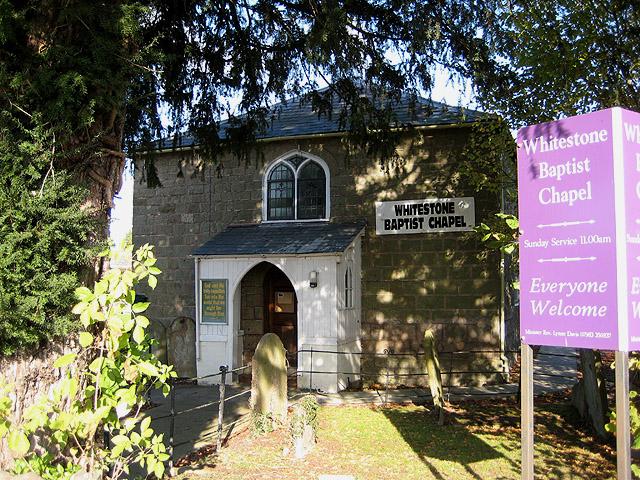 Whitestone Baptist Chapel, Withington