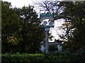 TM2556 : Charsfield Village Sign by Adrian Cable