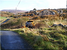 B8214 : Abandoned car - Lettercau Townland by Mac McCarron