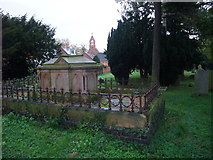 SK6946 : Hoveringham cemetery by Tim Heaton