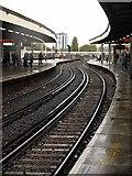 TQ2775 : Platform 15, Clapham Junction station by Derek Harper