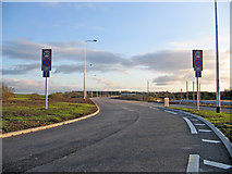 SD4260 : New road to Lancaster Waste Technology Park by Ian Taylor