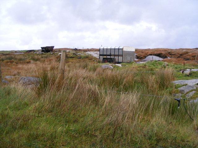 Rough grazing near Trawenagh Bay - Drumlaghdrid Townland