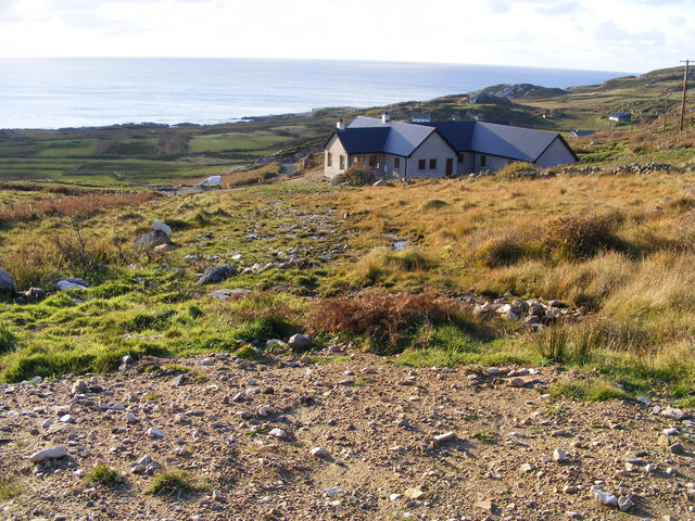 House near Crohy - Crohy Townland