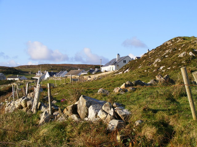 Cottages at Crohy - Crohy Townland