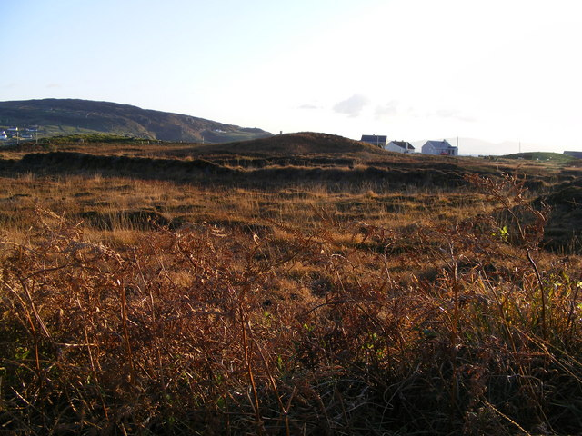 Rough grazing - old peat workings - Termon Townland