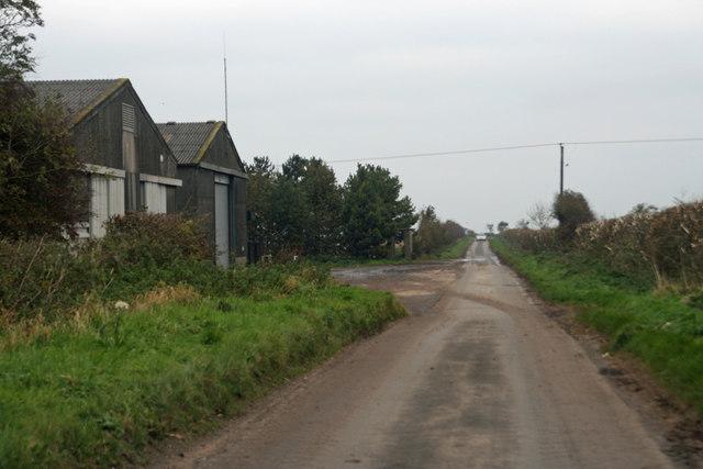 The Road towards Barton Upon Humber