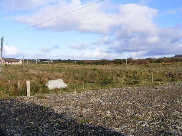 Rough grazing, Sandfield Townland