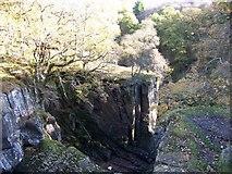 NN6408 : The gorge carved by the Keltie Water at Bracklinn Falls by Elliott Simpson