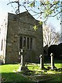 NY9967 : The chancel end of Halton Church by Mike Quinn