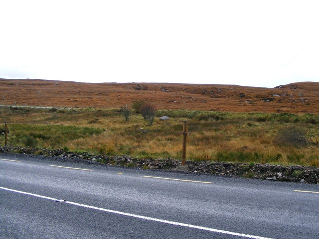 Rough grazing to the west of N56 - Croaghnashallog Townland