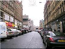 SE1633 : Kirkgate - viewed from Godwin Street by Betty Longbottom