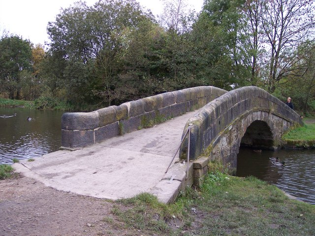 Bridge over entrance to canal basin