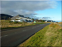 NG4867 : Staffin Stores by Dave Fergusson