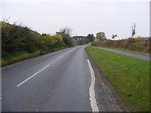 TM2956 : B1078 Border Cot Lane,Wickham Market by Adrian Cable