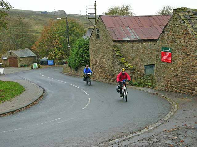 Cyclists at Rookhope