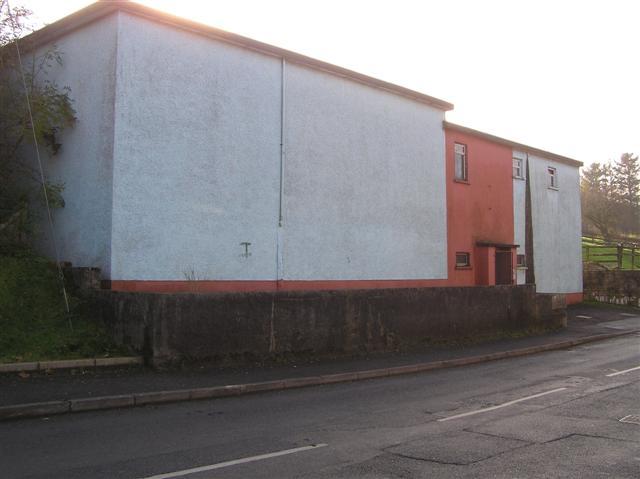 Hand-ball alley, Drumquin