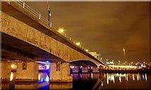 J3474 : The Lagan Bridge, Belfast by Albert Bridge