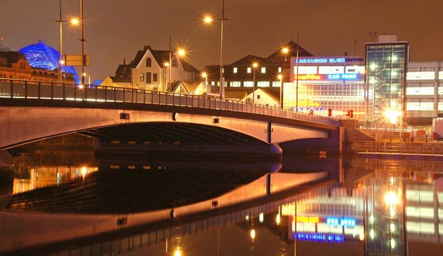 The Queen Elizabeth Bridge, Belfast (3)