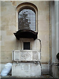 TQ2882 : External pulpit, former Holy Trinity Church by Ian Capper