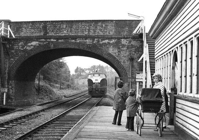 Finaghy station, Belfast (1970)