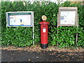 SU0805 : Three Legged Cross: postbox № BH21 70, Verwood Road by Chris Downer