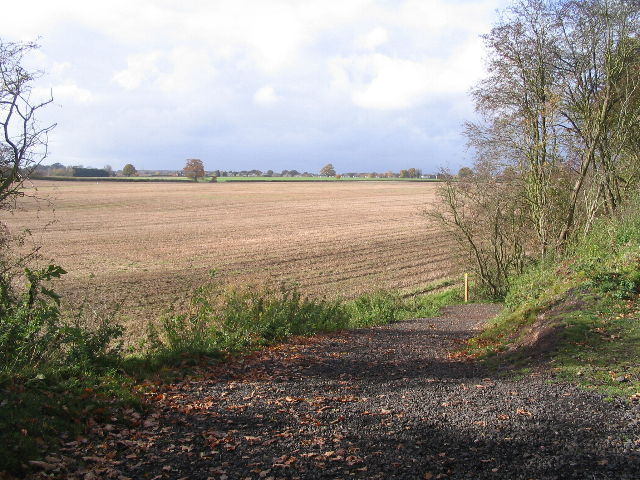 Hollis Lane access point, Kenilworth Greenway