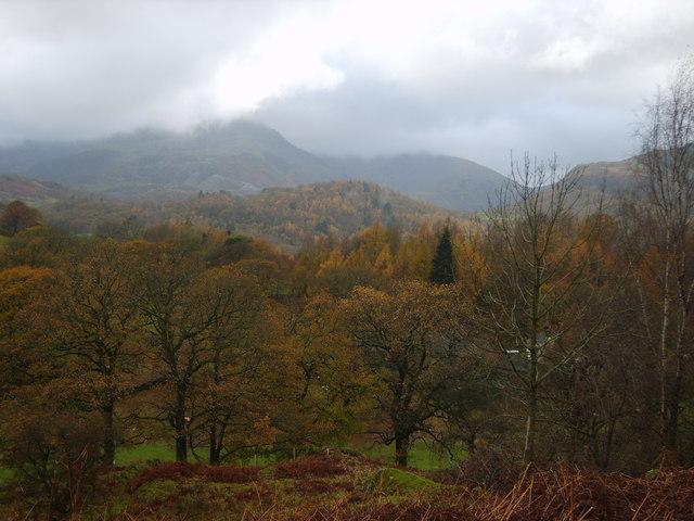 Ascending Loughrigg Fell