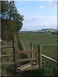 SO8690 : Swindon Stile View by Gordon Griffiths
