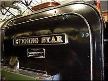 SU1484 : Evening Star, STEAM Museum, Swindon (2) by Brian Robert Marshall