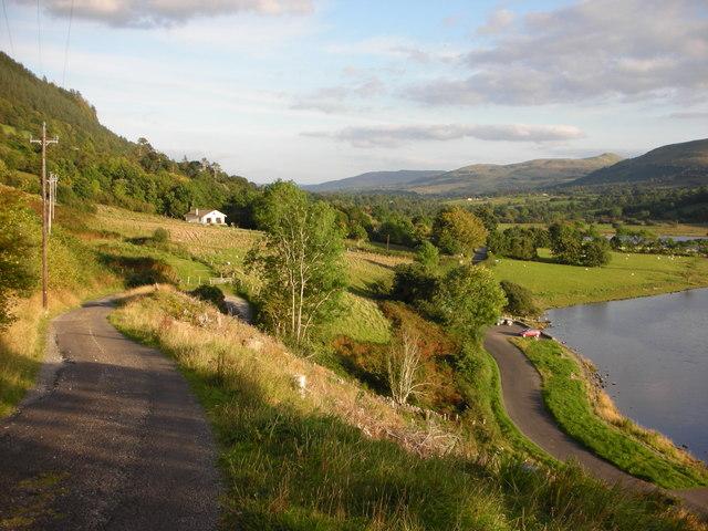 """Sligo. A house with a view over """"Glencar Lough"""""""