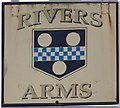 SY7699 : Sign for the Rivers Arms by Maigheach-gheal