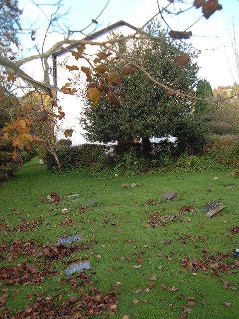 Flora Klickmann's grave