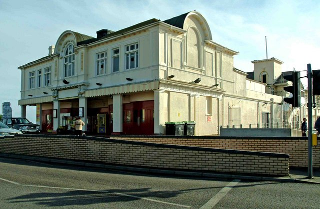 Entrance building Bognor Regis Pier The Esplanade