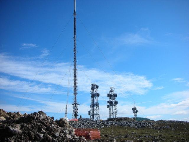Sligo. Truskmore Summit. 2122 feet