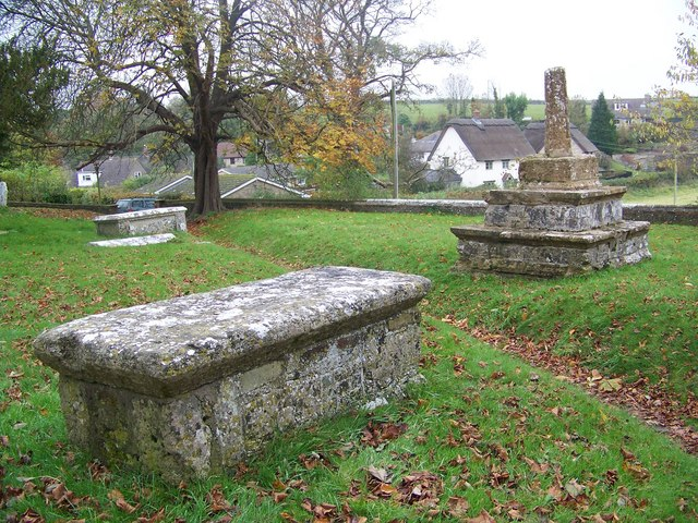 Churchyard, St Martin's Church, Cheselbourne