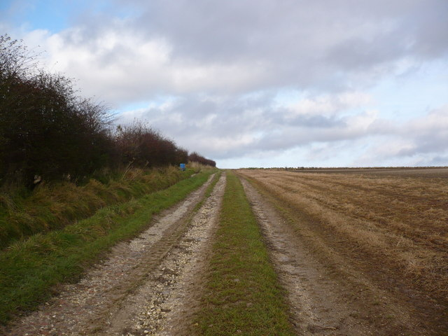 Track to the north of Boynton on North Wood Farm